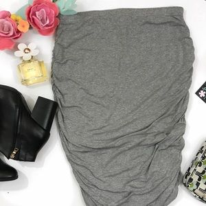 Vince Camuto Skirts - Vince Camuto {jersey grey} body con midi skirt